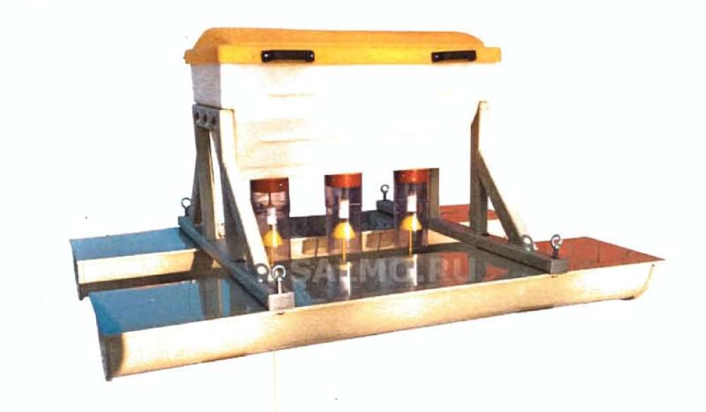 Рис.4 Кормушка «Салмо» с бункером на 75 кг
